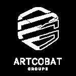 Artcobat ECCI Construction Bâtiment Industrie Habitat méthanisation agricole logo Artcobat blanc
